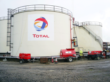 Total (UK) tank refurbishment delivered by LTG