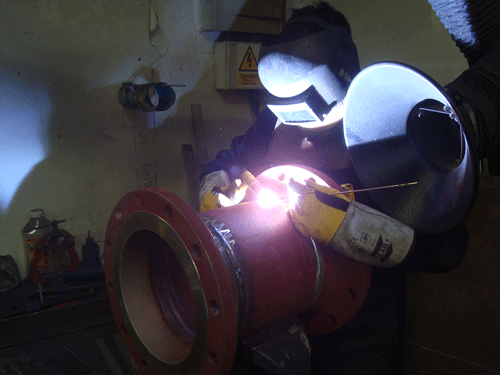 Welding services - Pipeworks LTG (Cheshire) Ltd