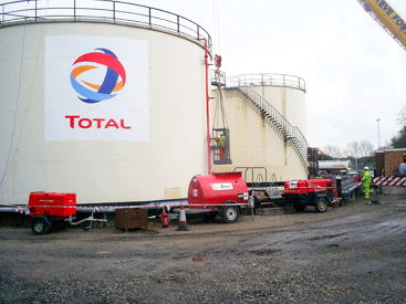 LTG and Total Isle of Man Terminal - storage tank services