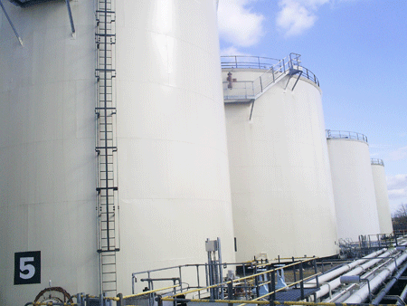 LTG (Cheshire) Storage tanks