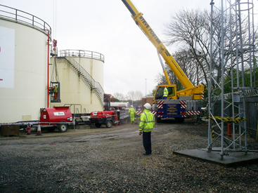 Total (UK) Ltd - Storage Tank Refurbishment delivered by LTG